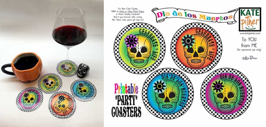 Printable-Dia-de-los-Muertos-Party-Coasters