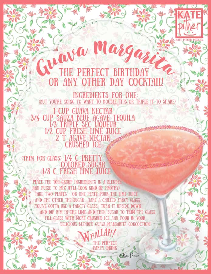 *Guava-Margarita-Recipe