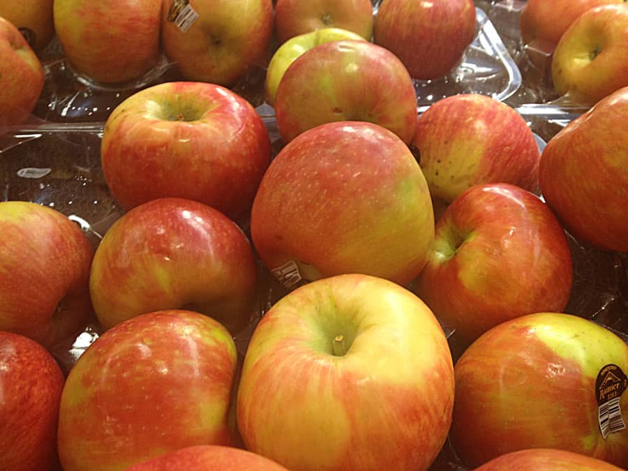 Color Palette:  Honey Crisp Apples
