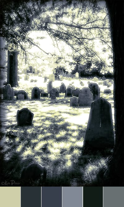 Color Palette:  Halloween Cemetery