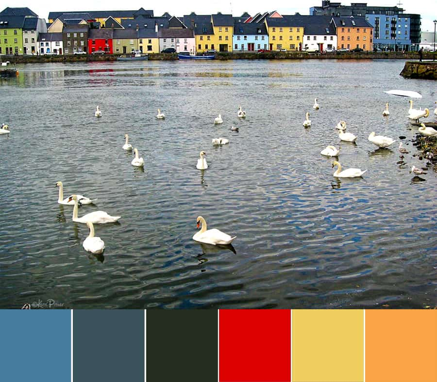 Galway/Claddagh Color Palette
