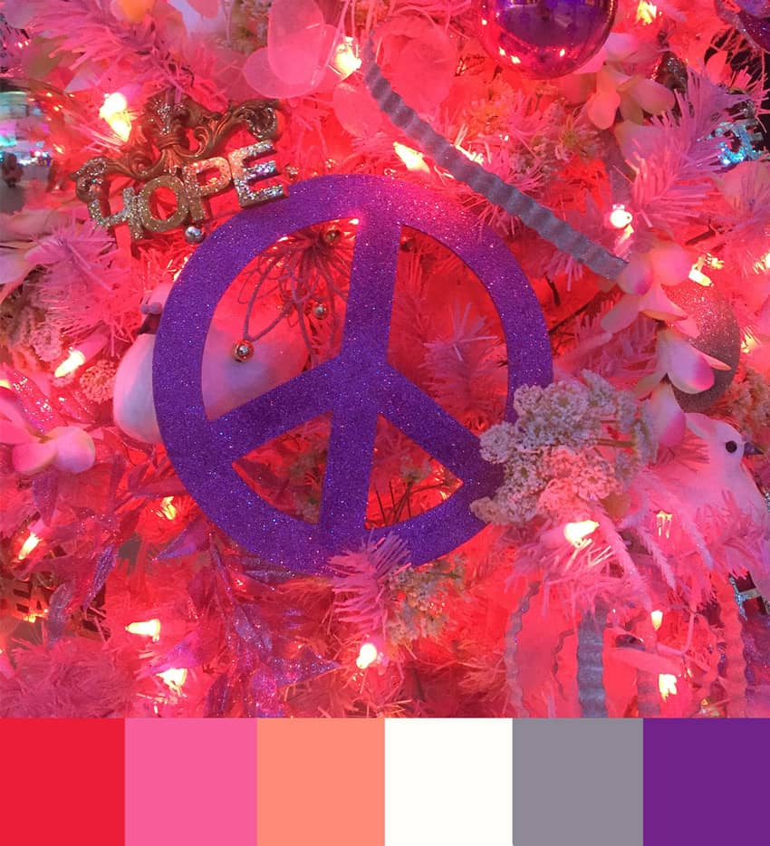 Merry Christmas Color Palettes!