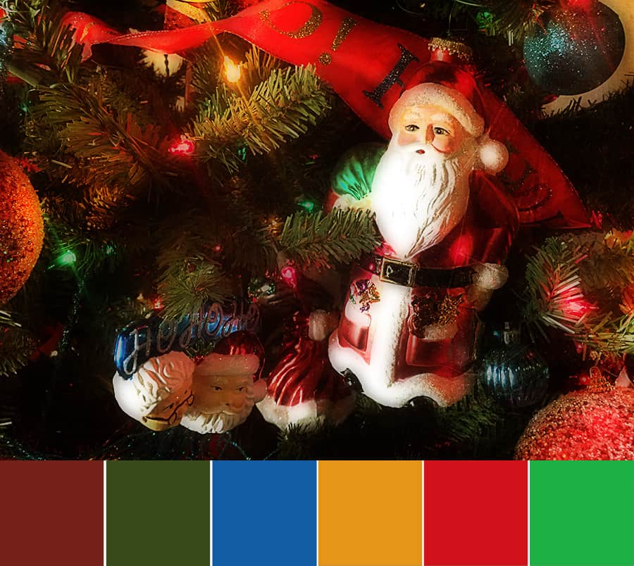 Santa Claus is Coming to Town – Color Palette